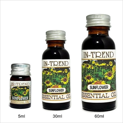 Sunflower Essential Oil 100% Pure & Natural 5ml 30ml 60ml Free Shipping