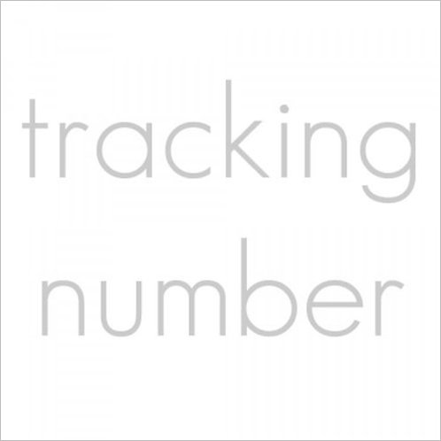 TRACKING NUMBER OPTION