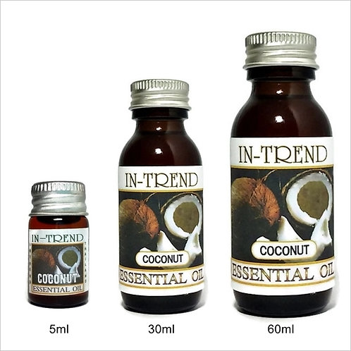 Coconut Essential Oil 100% Pure & Natural 5ml 30ml 60ml Free Shipping
