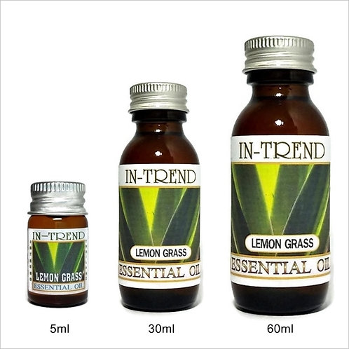 Lemongrass Essential Oil 100% Pure & Natural 5ml 30ml 60ml Free Shipping