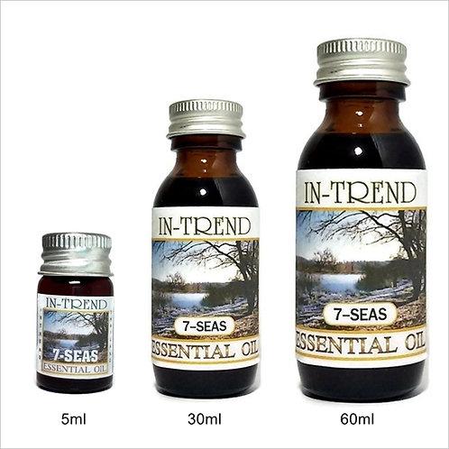 Seven seas Essential Oil 100% Pure & Natural 5ml 30ml 60ml Free Shipping