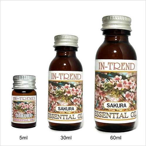 Sakura Essential Oil 100% Pure & Natural 5ml 30ml 60ml Free Shipping