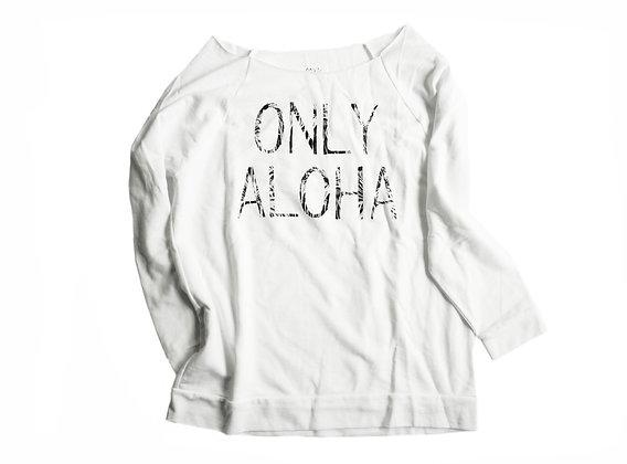 Women's 3/4 Sleeve Lightweight Logo Sweatshirt