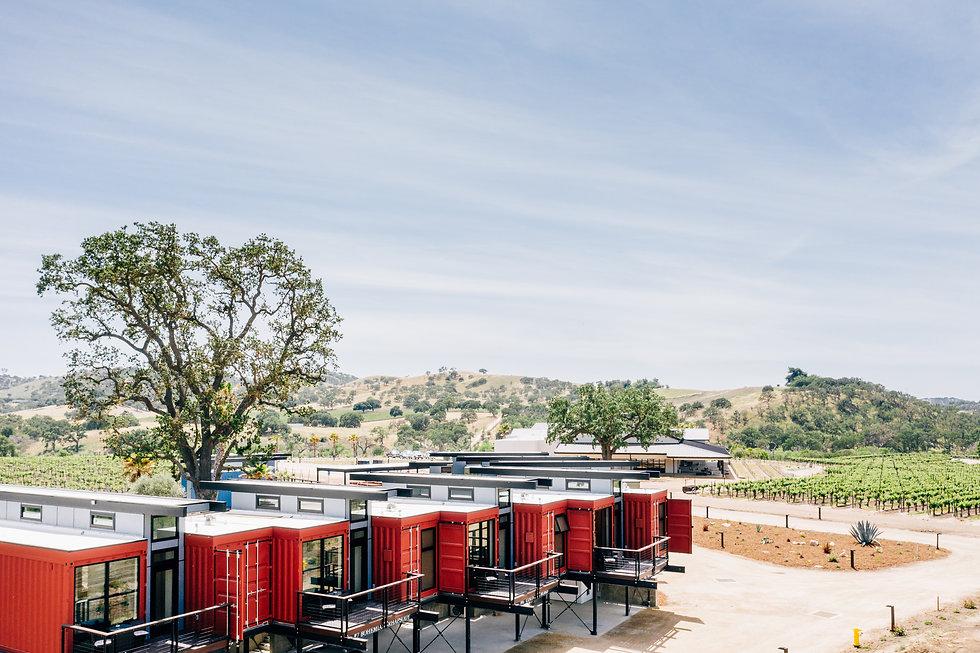 Vineyard Inn, Vineyard Bed and Breafkast, Luxury, Storage Containers, Winery Stay