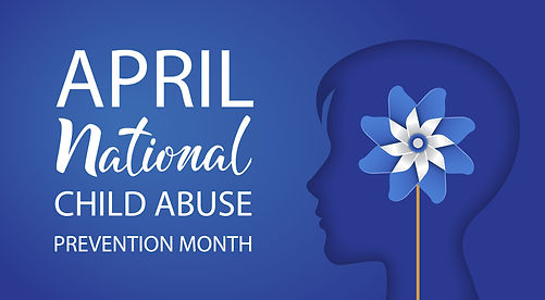 NCA Prevention Month Pinwheel inside hea