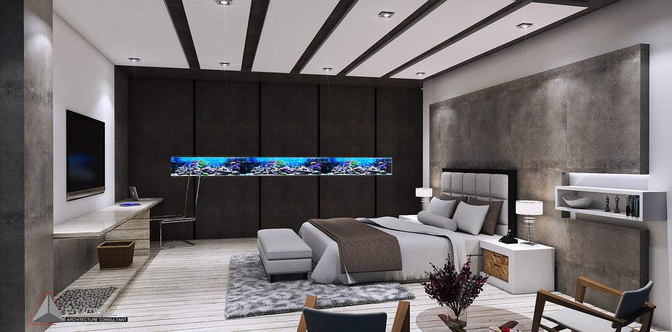 Evonil Architecture - Residence Pangkalan Bun - Bedroom 2