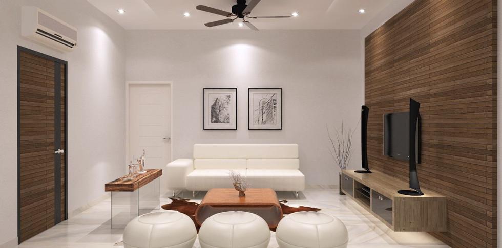 Evonil Architecture - Residence Pluit Timur - Ruang Kumpul Lt. 3