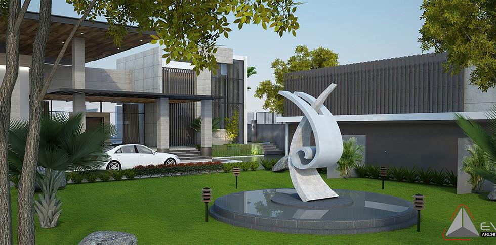Evonil Architecture - Residence Pangkalan Bun - Eksterior