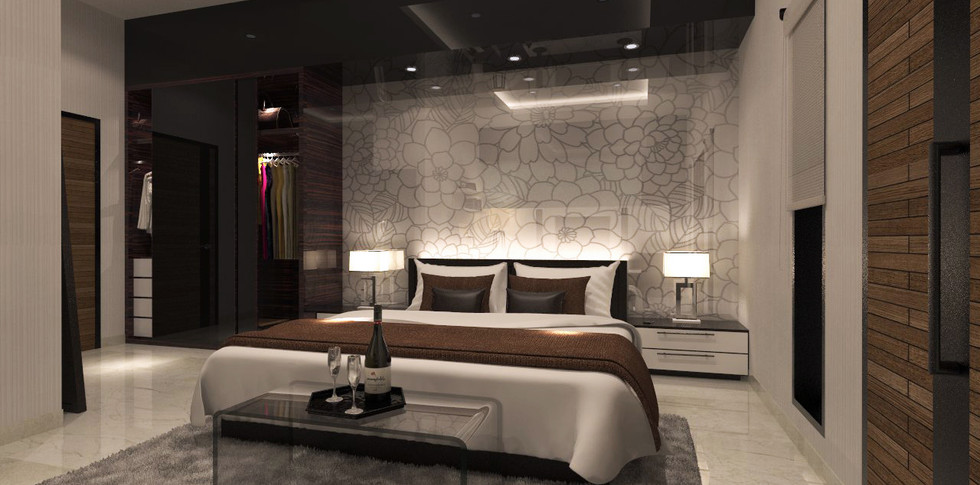 Evonil Architecture - Residence Pluit Timur - Bedroom 2 Lt 3