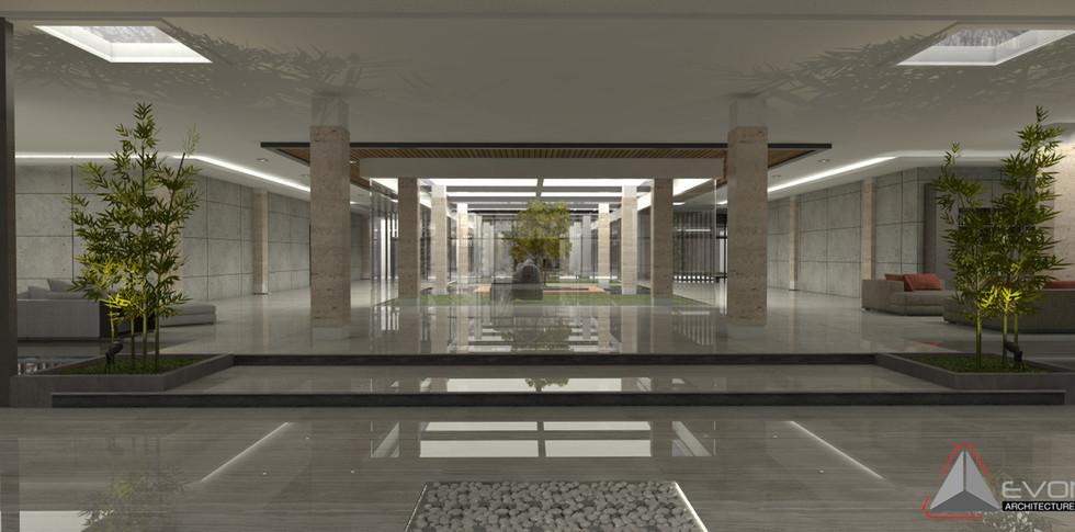 Evonil Architecture - Residence Pangkalan Bun - Foyer