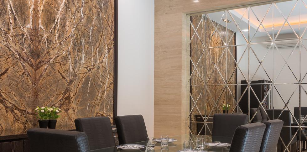 Evonil Architecture - Residence Green Garden - Ruang Makan
