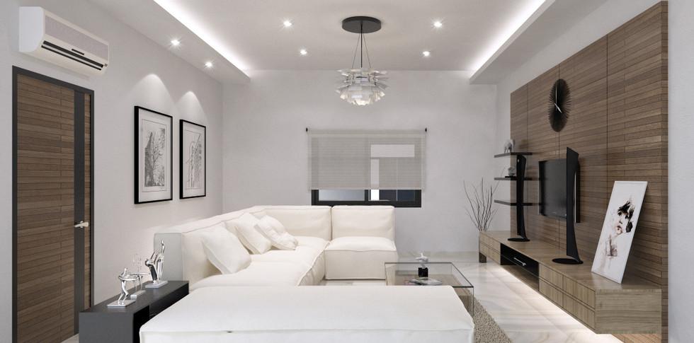 Evonil Architecture - Residence Pluit Timur - Ruang Keluarga