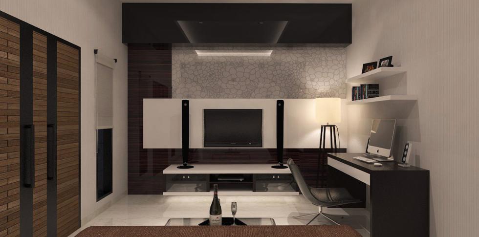 Evonil Architecture - Residence Pluit Timur - Bedroom 2-2 Lt 3