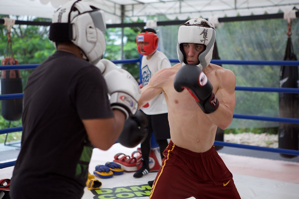 Sparring: An essential part of training.