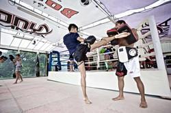 Onyx Muay Thai   Padwork