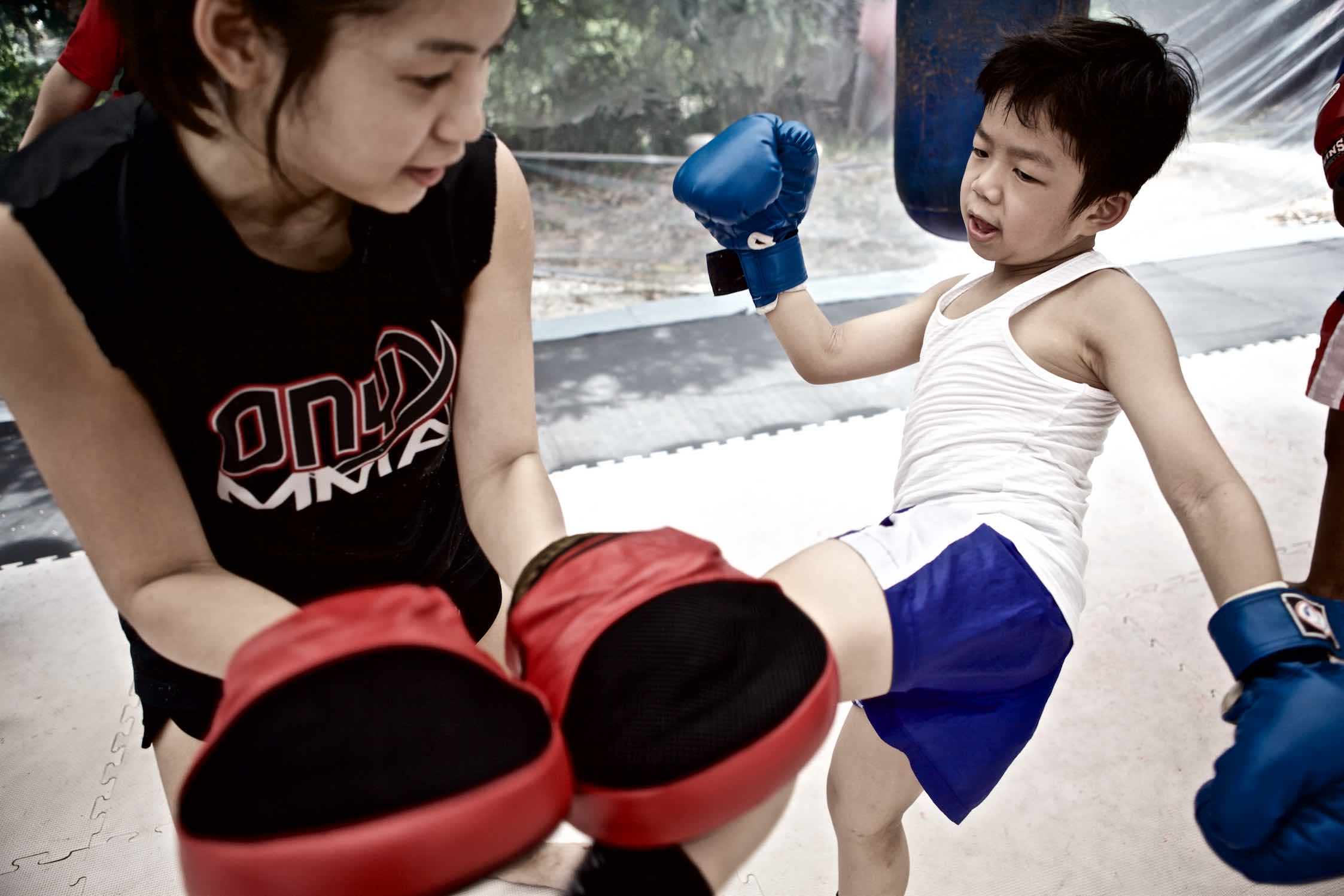 Onyx Kids | Muay Thai Padwork