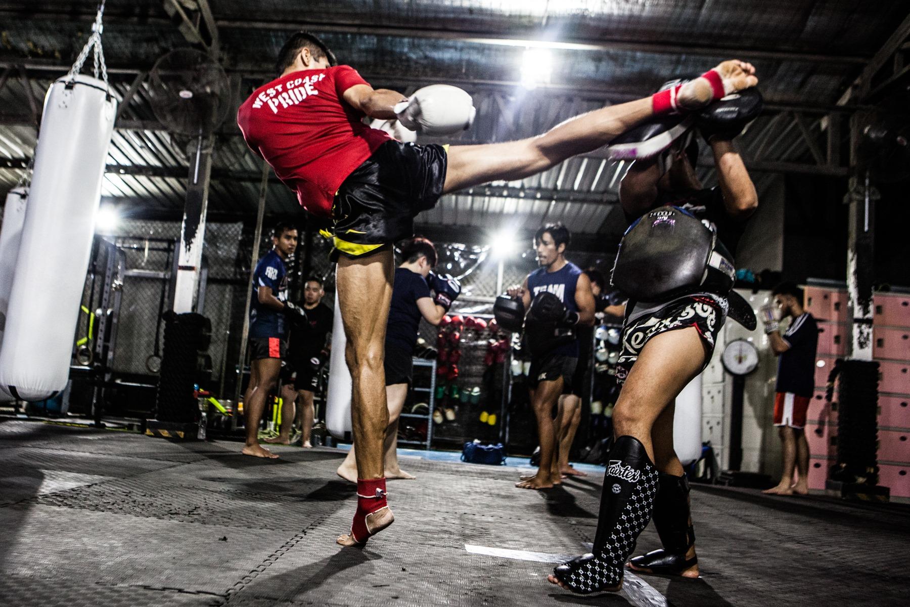 Onyx Muay Thai | Padwork