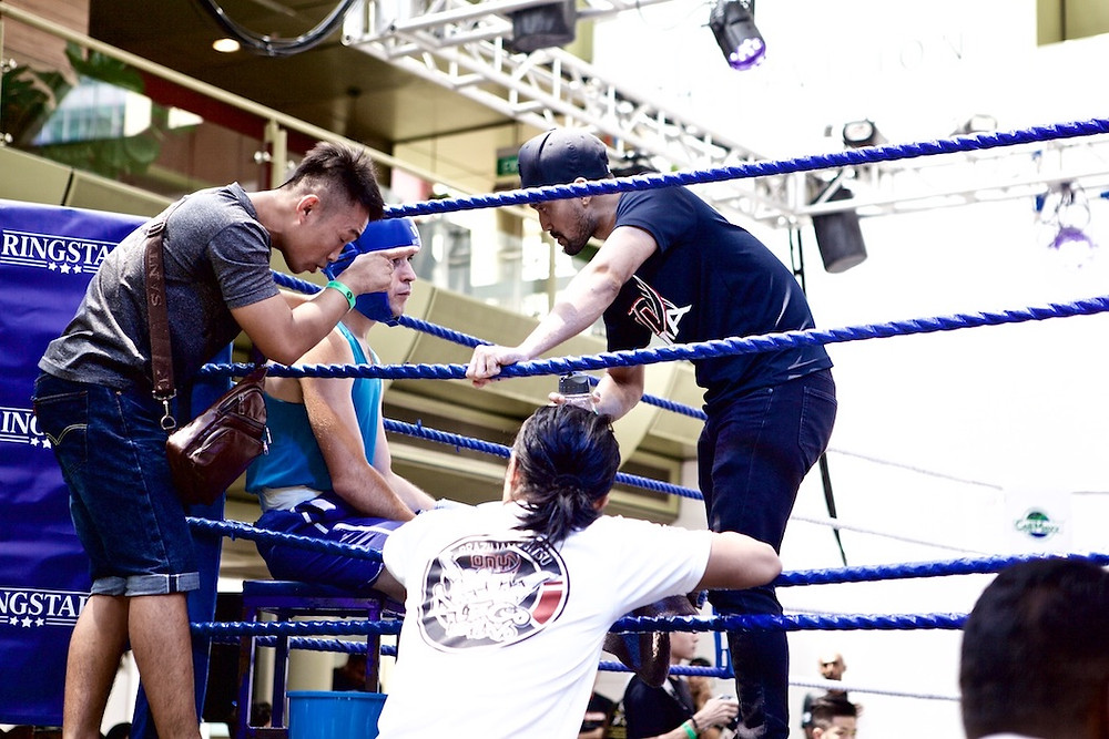Onyx Boxing Fight Team at Pride of Singapore event.