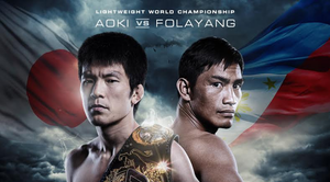 ONE FC 49 Fight Poster