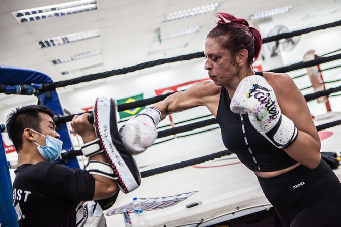 The Muay Thai Conundrum: Relaxing for More Power