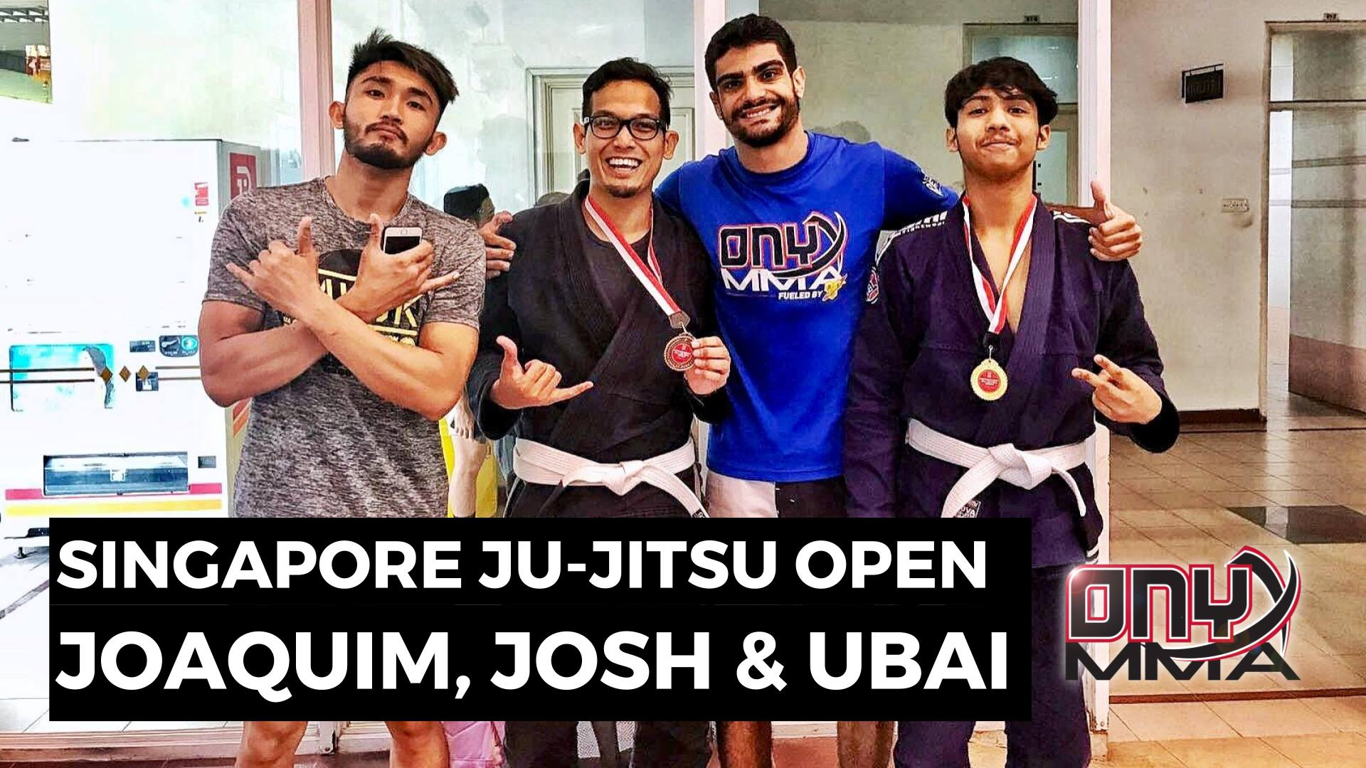 Singapore Ju-Jitsu Open - 19 Aug 2017