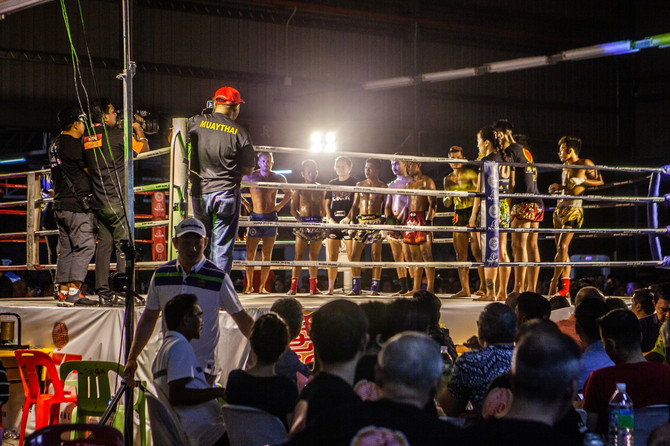 My First Pro Fight