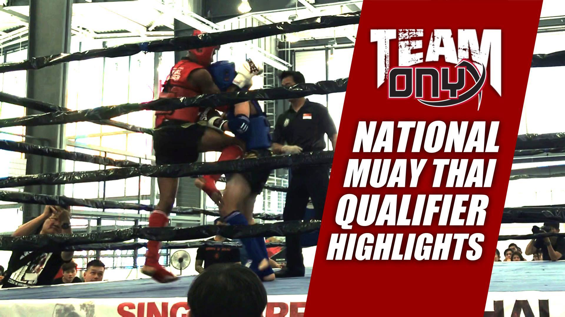 National Muay Thai Qualifier 2019 #1 - Onyx Highlights