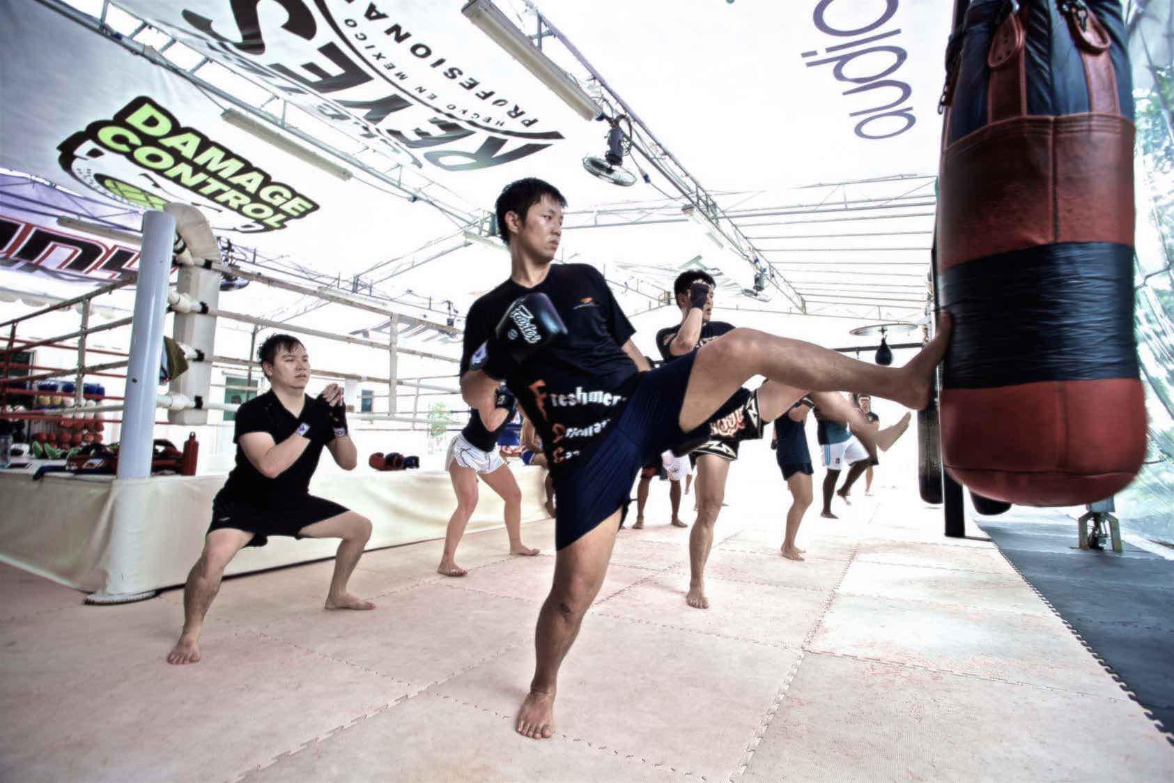 Onyx Muay Thai | Bag Work