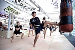 Onyx Muay Thai   Bag Work