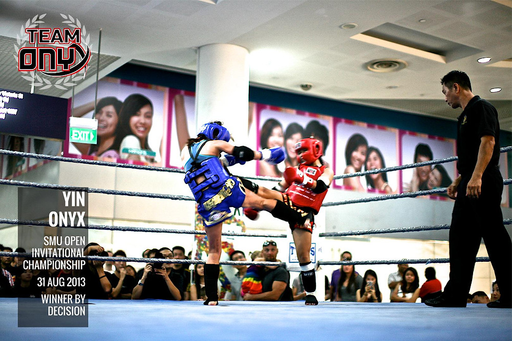 Yin Onyx Muay Thai Fight in 2013