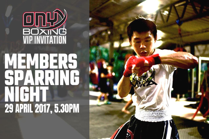 Member's Sparring Night
