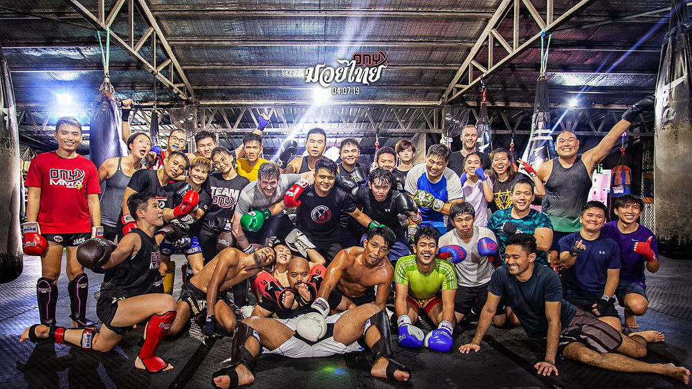 Onyx Muay Thai after Sparring.