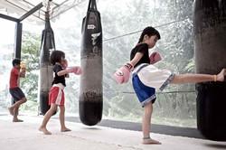 Onyx Kids | Muay Thai Bag Work