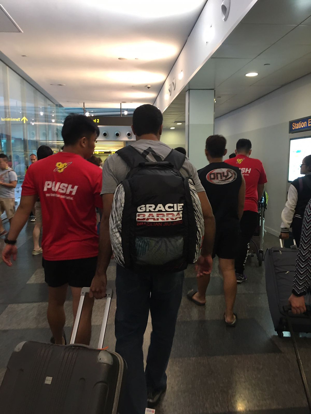 When we first picked Professor Diego up from Changi Airport