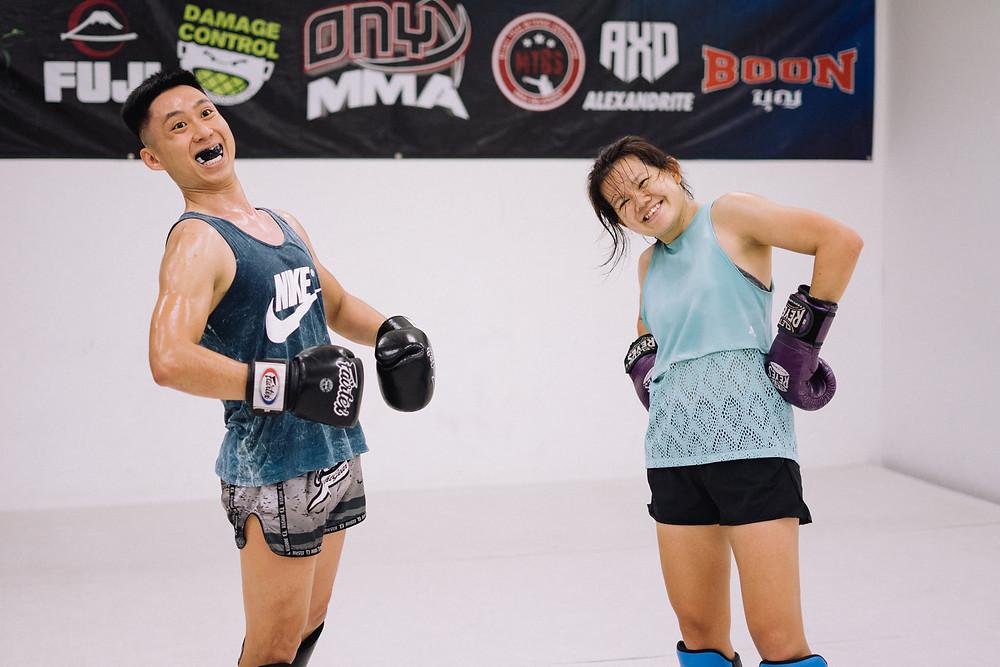 Muay Thai, Sparring