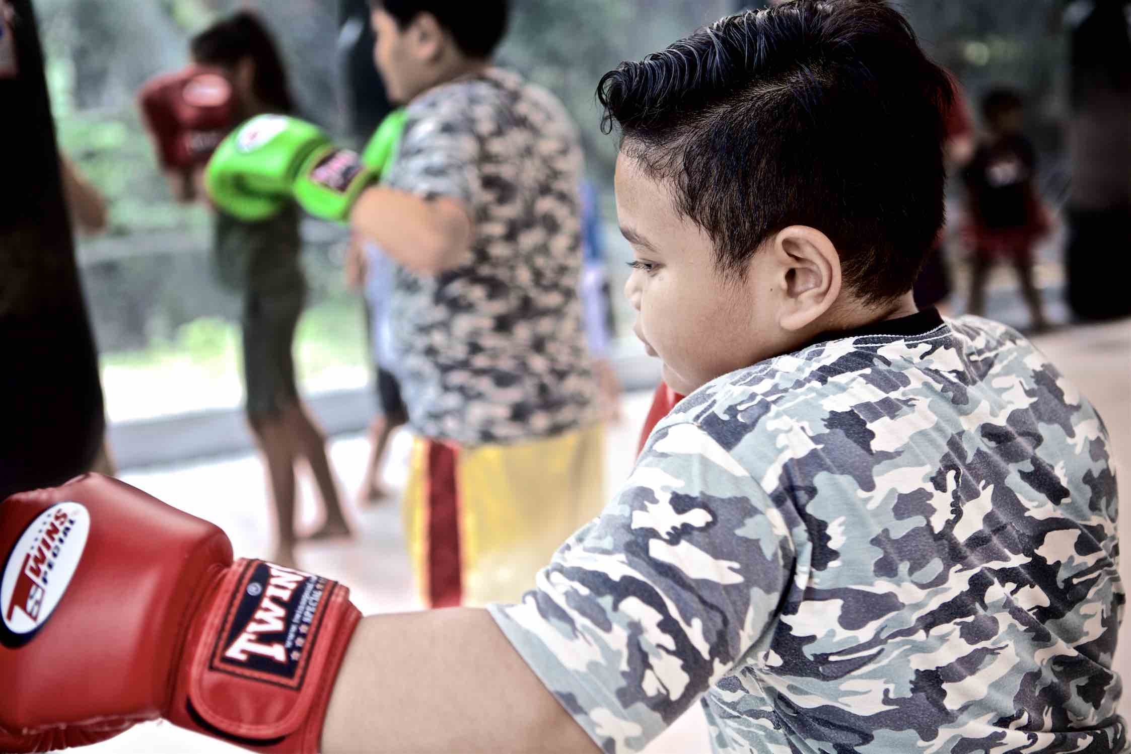 Onyx Kids | Muay Thai Bag Work