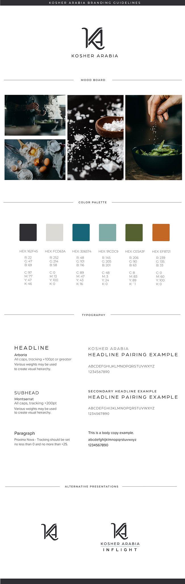 Tori Lake Branding Design