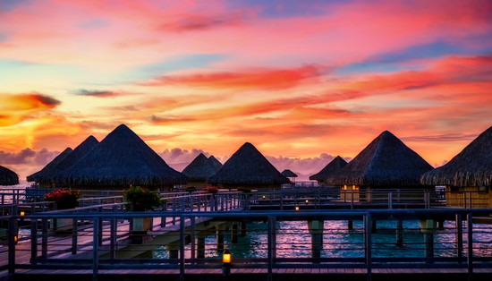 Sunset - Overwater Bungalows.jpg