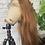 """Thumbnail: 16"""" Farrah Light brown/HD warm brown (Premium Virgin)"""