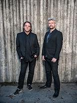Lars Nylin och Niclas Green. Foto: Johan Bergmark.