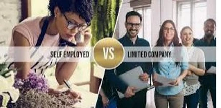 Difference between Limited Company and Self Employed