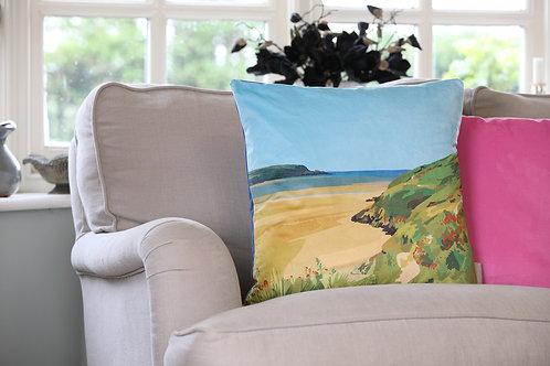 Daymer Bay Velvet Cushion