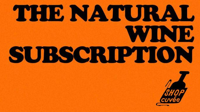 NATURAL WINE SUBSCRIPTION: 3 BTLS