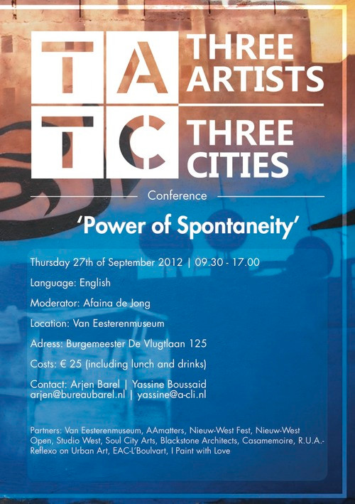 Working conference Power of Spontaneity - the final programme: register now!