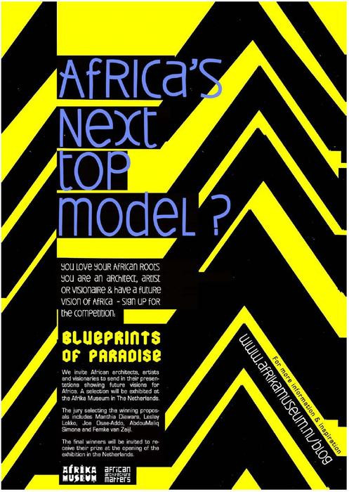 READY FOR AFRICA'S NEXT TOP MODEL?
