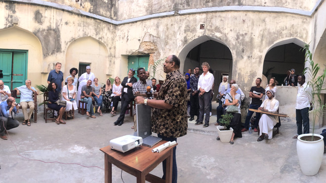 Ng'ambo Atlas book launch in Zanzibar