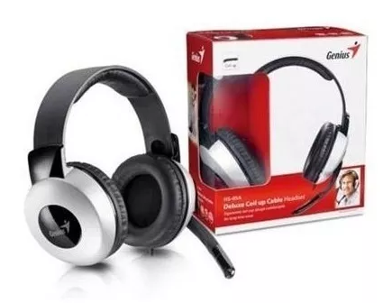 Fone Headset C/ Microfone P2 Genius Hs-05a