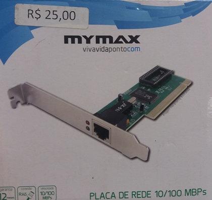Placa De Rede Mymax 10/100mbps