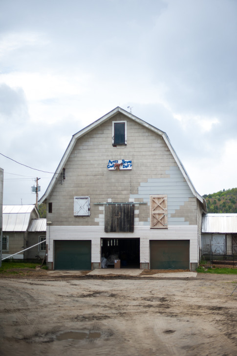 Ayers Brook Goat Dairy Old milking barn