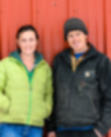 Farm owners Daryll Breau and Miles Hooper